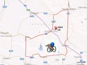 Trasa z GPS 1